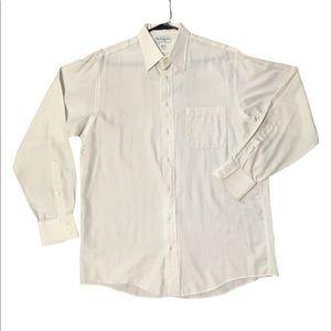 Burberry button down long sleeve shirt